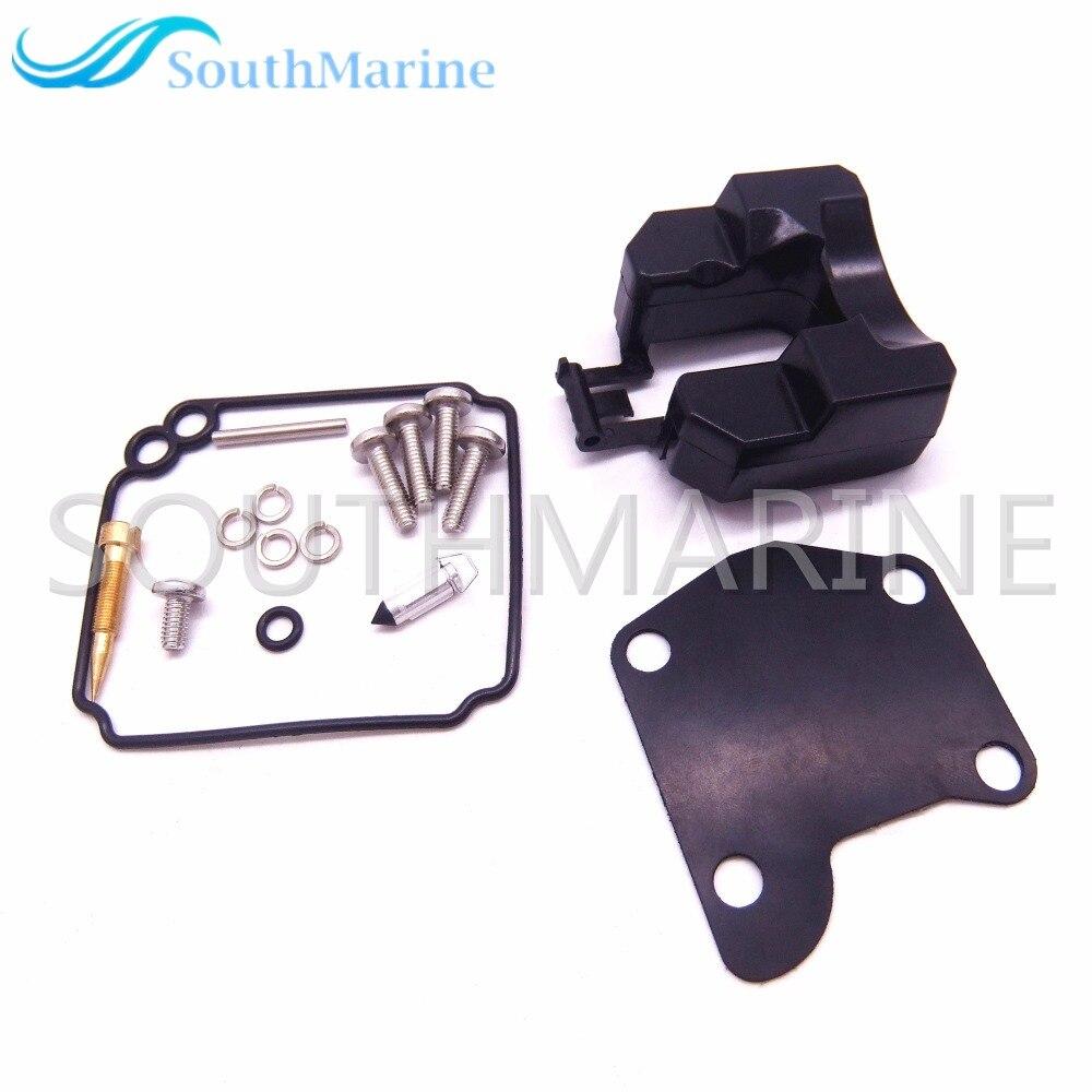 Boat Motor Carburetor Repair Kit 63V-W0093-00-00 For Yamaha 2-Stroke 9.9HP 15HP Outboard Motor