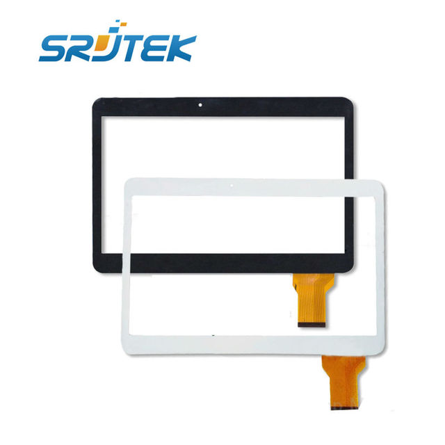 10.1 дюймов 100% Новый MJK-0331-V1 MF-762-101F-3 FPC MJK-0331 V1 Планшетный ПК С Сенсорным экраном дигитайзер панели Ремонт стекла