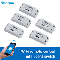Sonoff Smart Remote Control Wireless Switch Universal Module Timer Wifi Switch Smart Home Controller Via IOS
