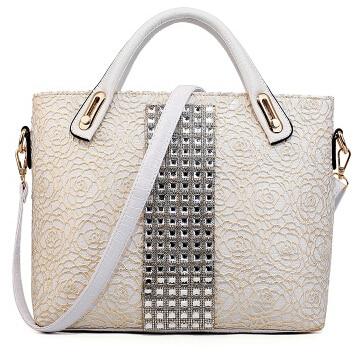 2015 Women s font b handbag b font for Crocodile lace bags diamond font b handbag