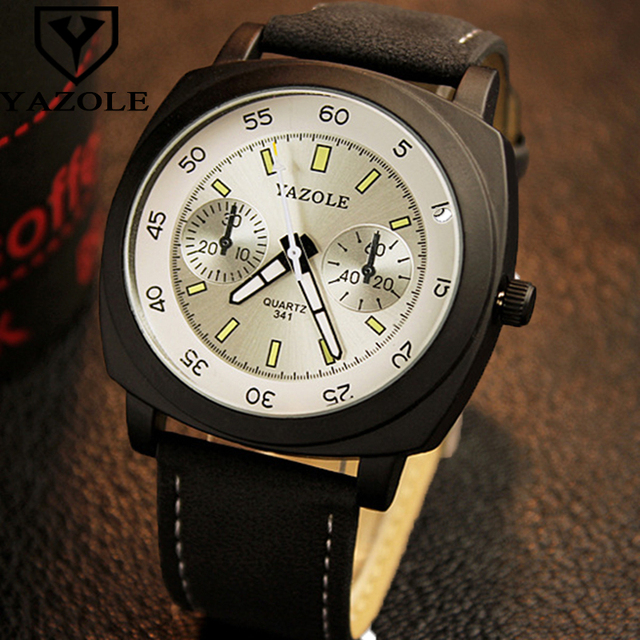 white face calendar gold product dress black watches wristwatch formal bracelet leather men delicate silver