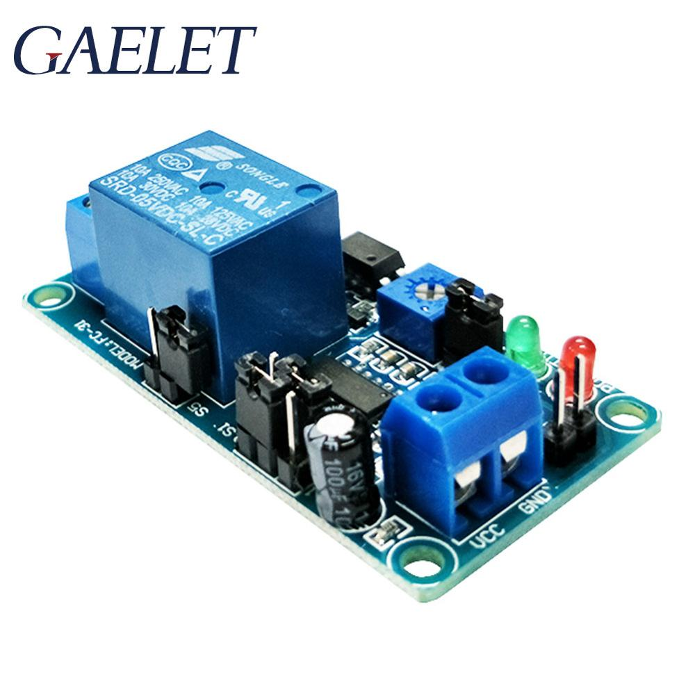 1pcs Delay Relay Delay Turn On / Delay Turn off Smart Electronics Switch Module with Timer DC 12V ZK30