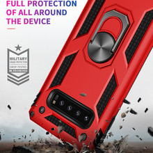 For Samsung Galaxy S10 S8 S9 S10 E 5G Plus Armor Silicone Cover Shell Shockproof Heavy Duty Car Magnet Case For Note 8 9 10 Pro