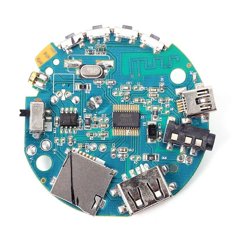3.7-5V Multifunction <font><b>Bluetooth</b></font> Audio Receiver <font><b>Amplifier</b></font> MP3 Decoder <font><b>Module</b></font>
