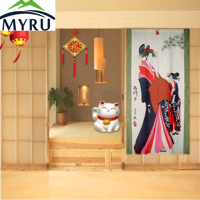 MYRU Feng Shui Tenda Della Porta Della Cucina Wc Partizione Cinese ...