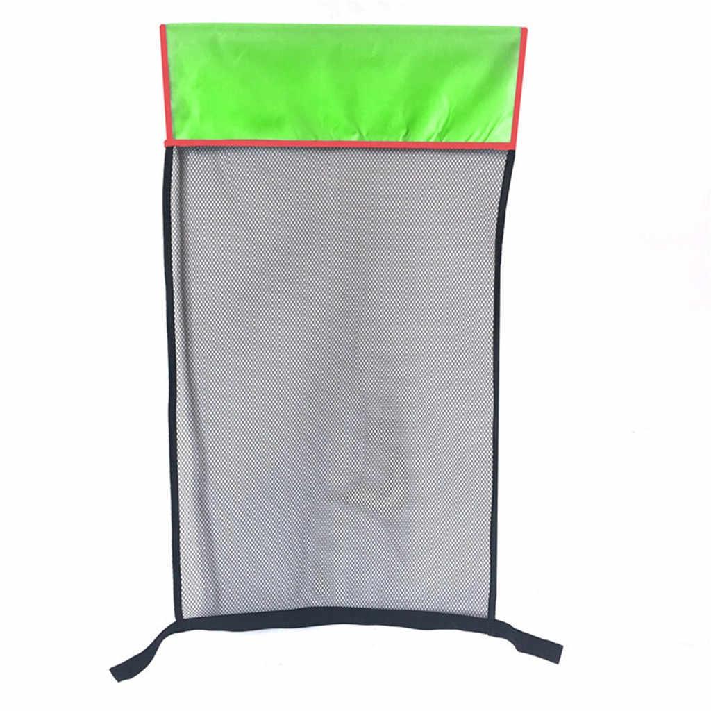 1 adet Polyester yüzen havuz şehriye Sling fileli sandalye Net yüzme havuzu parti çocuklar yatak koltuk su gevşeme # e