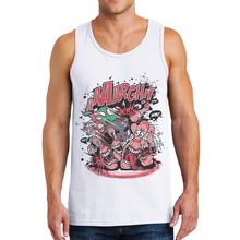 2019 New Arrival Mens Clothing Fitness Tank Top Men Sleeveless Shirt Vest Funny Bowling Printing Fashion 100% Cotton Man Tanks