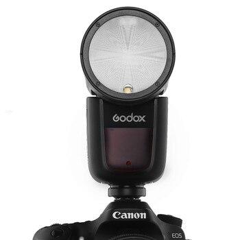 Godox V1 Flash V1-C V1-N V1-S V1-F V1-O 1/8000s HSS TTL Speedlight for SONY Canon Nikon Fujifilm Olympus,Camera Flashlight фото