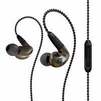 Высокое качество Ми аудио pinnacle P1 проводом в наушники Audiophile наушники со съемной Кабели акустические гарнитура с микрофоном