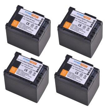 4Pcs BP-820 BP820 BP 820 Camcorder Battery for Canon VIXIA GX10, HFG20, HF G21, HFG30, HFG40, HFM30, HFM31, HFM32, HFM300,