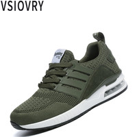 VSIOVRY Unisex Cushion Sneakers 2018 New Men Shoes Spring Autumn Casual Shoes Breathable Lightweight Men Krasovki Soft Male Shoe
