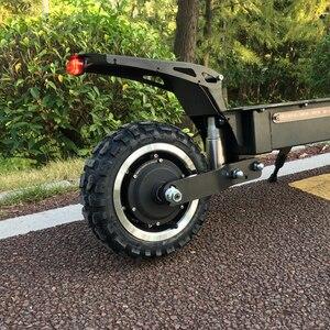 FLJ мощный Электрический скутер 60 в 5600 Вт 11 дюймов внедорожный большой колесный двигатель Быстрая зарядка e скутер kick складные взрослые скуте...