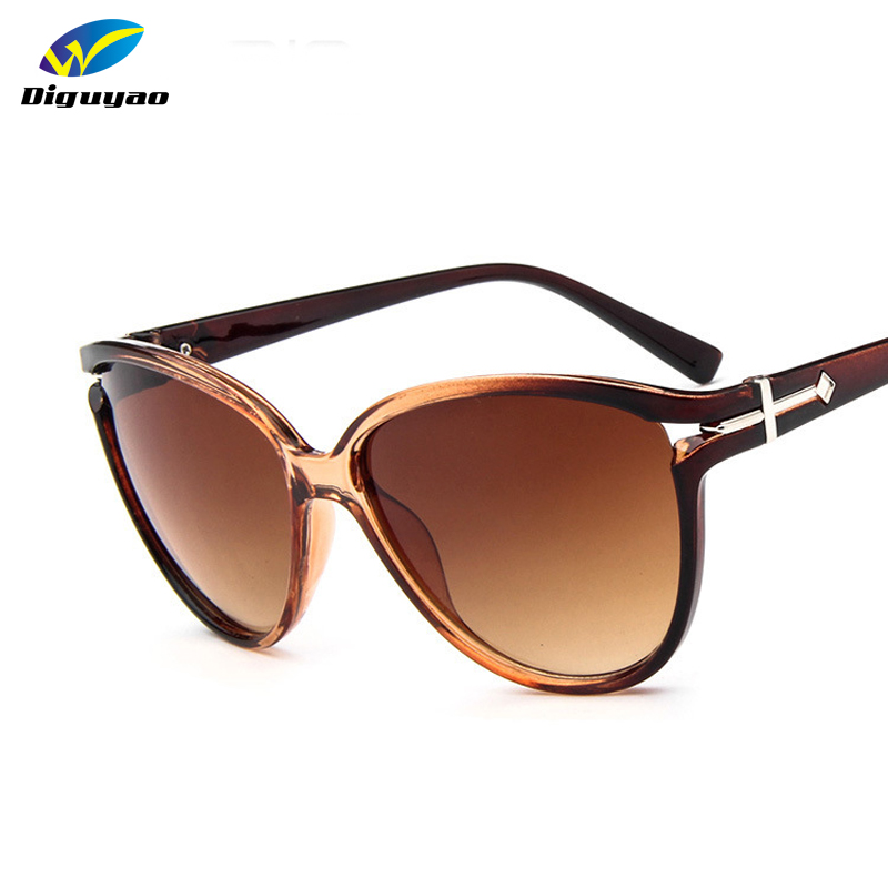 2016 NEW Gradient Points oversized Frame Sun Glasses ...