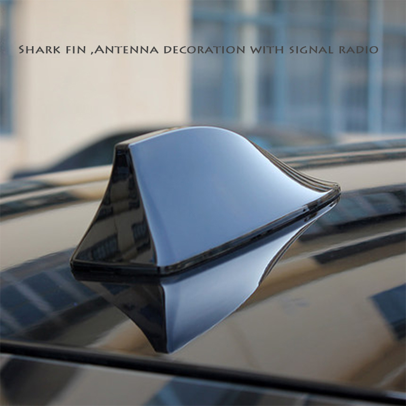 Image 4 - For Mercedes Benz A Class W176 W169 B W246 W245 C W205 W204 W203 2018 Car Shark Fin Antenna Signal Aerials Sticker Accessories-in Car Stickers from Automobiles & Motorcycles