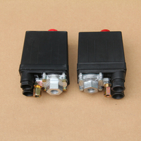 Air Compressor Pressure Switch Control Valve 175PSI 1 4NPT Single Port
