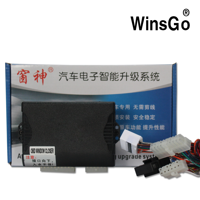 WINSGO Car Window Closer Closing & Open Power One by One For Mitsubishi Outlander  2014-2018  Left hand driveWINSGO Car Window Closer Closing & Open Power One by One For Mitsubishi Outlander  2014-2018  Left hand drive