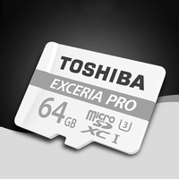 TOSHIBA Memory Card 32GB M401 UHS 3 Max Read 95M S Max Write Speed 80M S