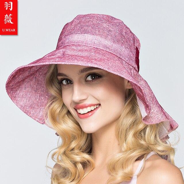 Lady New Beach Sun Hats Women Summer Sun Cap Girl Big Bongrace Sunhat Wide 79a3eba66eb8