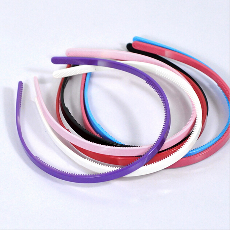 10pcs/lot Plastic Headbands Thin Hair Hoops Teeth Headwear for Women Girls Hair Accessories halloween party zombie skull skeleton hand bone claw hairpin punk hair clip for women girl hair accessories headwear 1 pcs