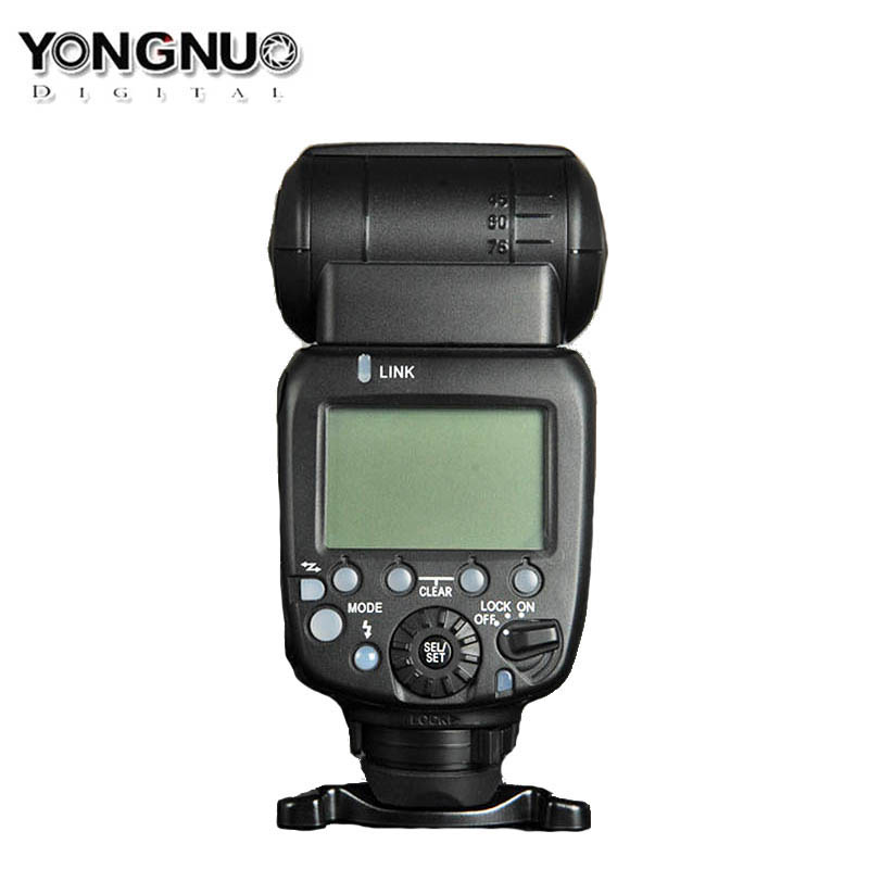 Upgraded Yongnuo YN600EX RT II Wireless Flash Speedlite TTL Radio Slave Master High speed Sync HSS for Canon Camera as 600EX RT in Flashes from Consumer Electronics