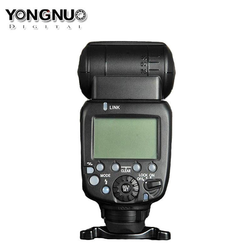 Upgraded Yongnuo YN600EX-RT II Wireless Flash Speedlite TTL Radio Slave Master High-speed Sync HSS for Canon Camera as 600EX-RT yongnuo yn600ex yn600ex rt ii 2 4g wireless hss 1 8000s master flash speedlite for canon eos camera as 600ex rt