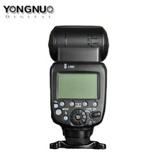 Upgraded Yongnuo YN600EX-RT II Wireless Flash Speedlite TTL Radio Slave Master High-speed Sync HSS for Canon Camera as 600EX-RT triopo tr 988 professional speedlite ttl camera flash with high speed sync for canon and nikon digital slr camera