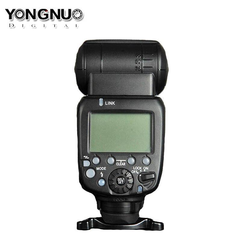 Обновленная Беспроводная вспышка Yongnuo YN600EX RT II, скоростная вспышка, ttl, радио, Slave Master, Высокоскоростная синхронизация HSS для камеры Canon, 600EX RT