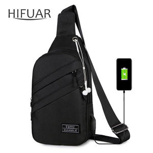 Men Bags Interface Crossbody-Bag Sports-Packs Anti-Theft Waterproof Fashion with Outdoor