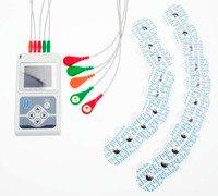 CONTEC ЭКГ холтеровское пациента Monito ЭКГ/ЭКГ холтеровское мониторинга Системы TLC9803, 5 приводит ЭКГ Холтер ЭКГ монитор