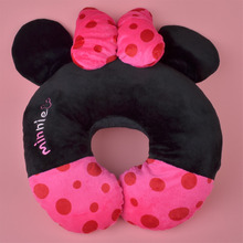 Lovely Minnie Plush U Shaped neck travel pillow, Head Cushion Rest Pillow Free Shipping