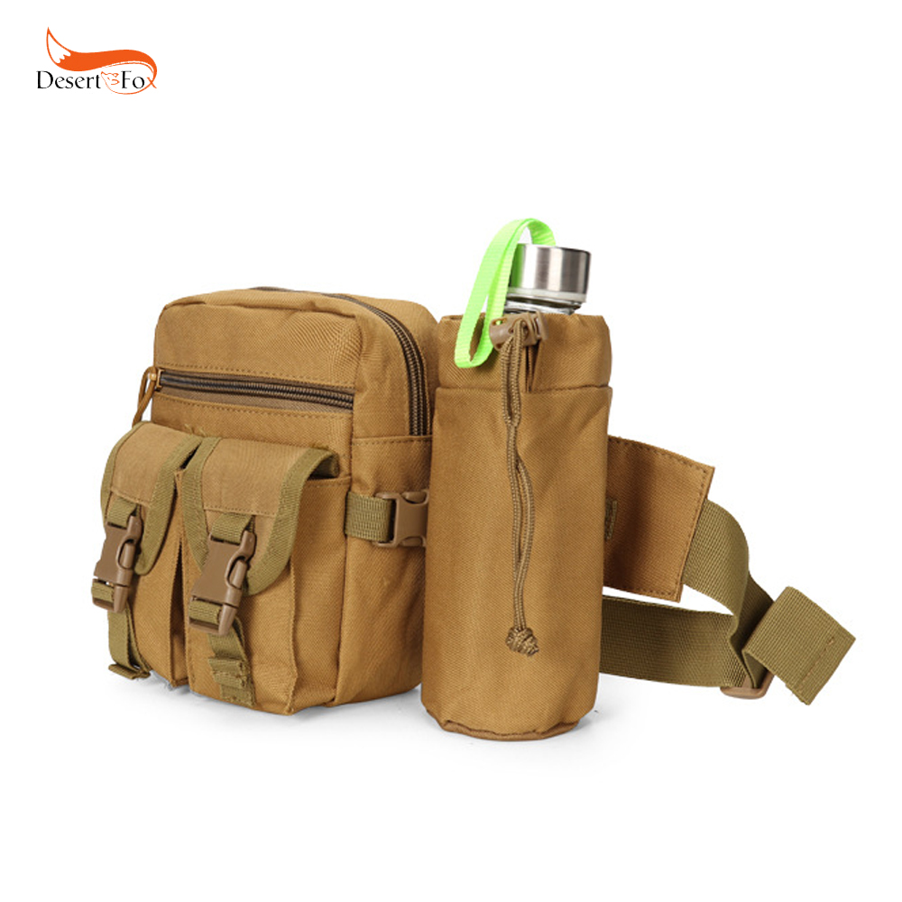 5 Color Outdoor Tactical Water Bottle Pouch Waterproof
