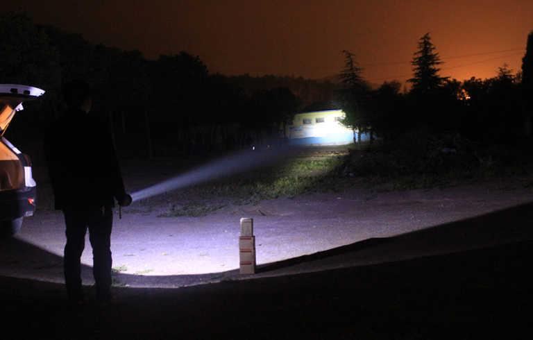 Superbight led krachtige Draagbare Spotlights t6 oplaadbare lamp voor jacht camping partrol
