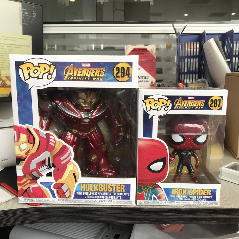 3267ae9d50c Exclusive 6   Funko pop Official Marvel  Avengers Infinity War Hulkbuster  Vinyl Action Figure Collectible Model Toy-in Action   Toy Figures from Toys  ...