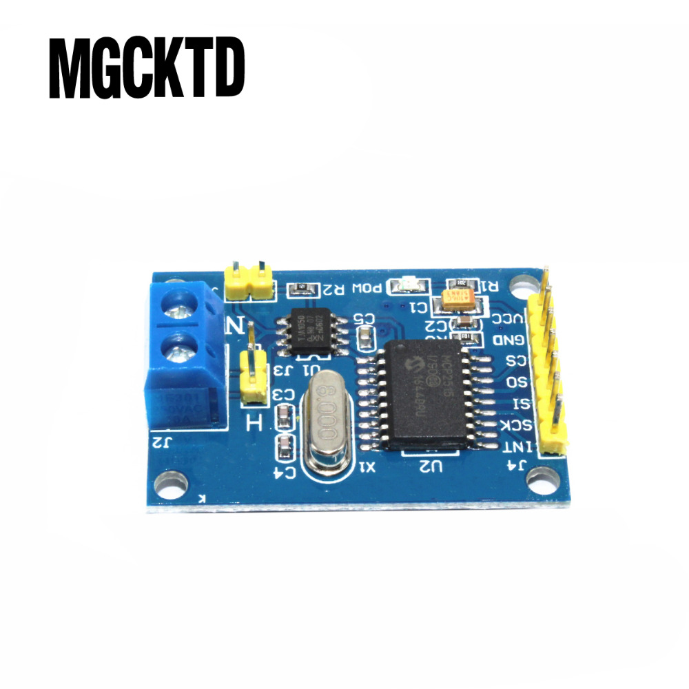 10pcs MCP2515 CAN Bus Module TJA1050 Receiver SPI Module image