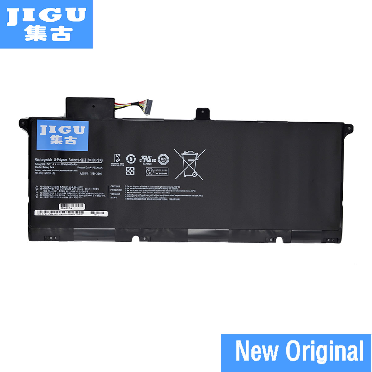 JIGU AA-PBXN8AR Replacement Laptop Battery For Samsung 900X4 900X46 900X4B-A01DE 900X4B-A01FR 900X4B-A03 900X4C-A01 NP900X4 new 7 4v 8400mah 62wh aa pbxn8ar battery for samsung np900x4 900x4b a01de 900x4c a01 900x4b a02us free shipping