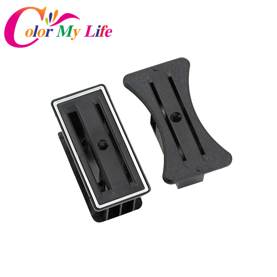 Color My Life Car Park Card Coin Slot Holder Center Console Card Holder Sticker for VW Golf Mk6 GTI R20 R Golf 7 MK7 Accessories 6pcs set car interior 3d dashboard panel console switch sticker for vw golf jetta mk6 gti