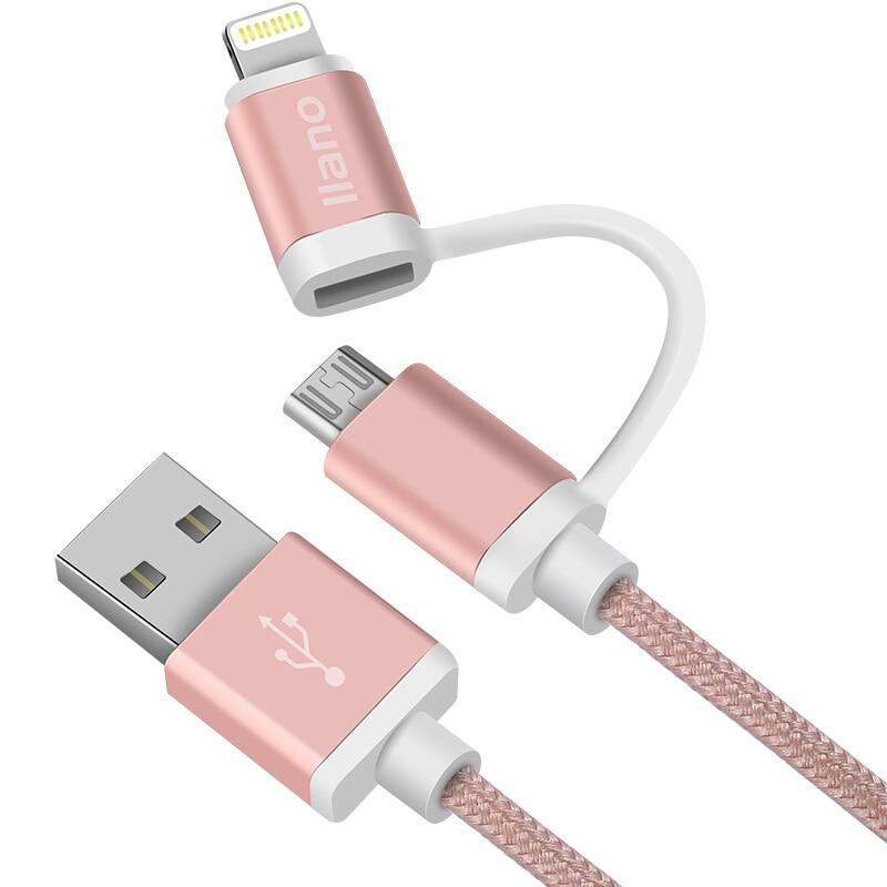 Micro Usb Kabel Usb 3.0 Kabel 2 In 1 Für Iphone Schnelle Verlängerung Kabel Für Iphone X/8/ 7 Plus/6 S Android Handy Tablet