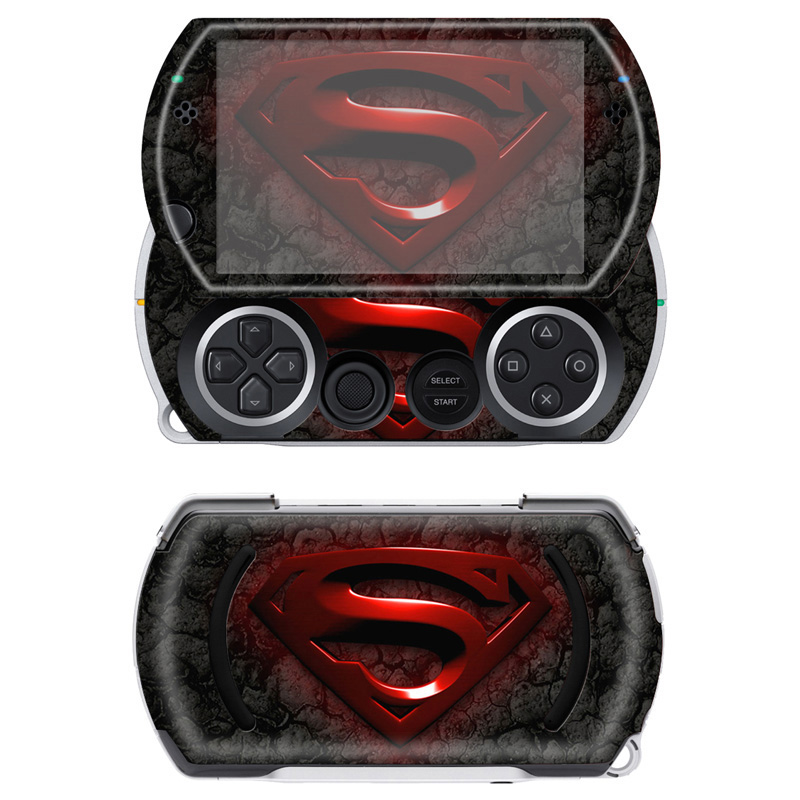 Free drop shipping good quality make your own gaming sticker for Sony PSP Go skin sticke ...