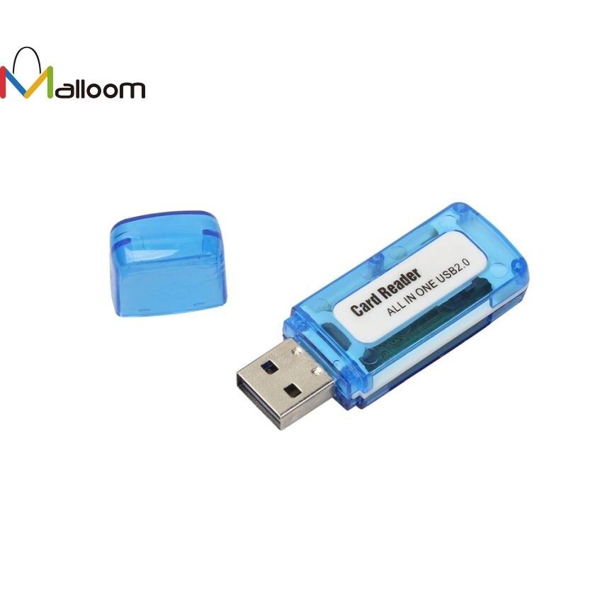 MicroSD USB 2.0 SDHC TF-Flash Memory Stick Mini Card Reader Writer For Laptop PC