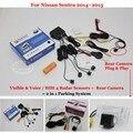 For Nissan Sentra 2014~2015 - Car Parking Sensors + Rear View Back Up Camera = 2 in 1 Visual / BIBI Alarm Parking System