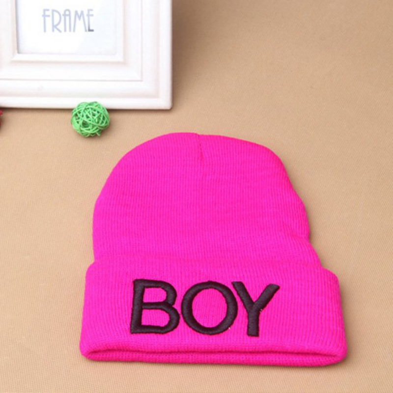 abf12cf3a14 New Fashion Toddler Baby Girl Boy Winter Warm Woolen Skull Hats BOY Beanie  Caps Ski Hats-in Hats   Caps from Mother   Kids on Aliexpress.com