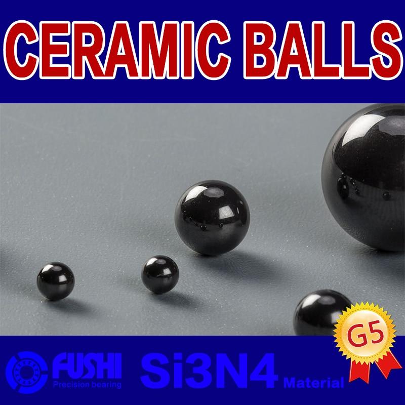 5mm Loose Ceramic Balls G5 Si3N4 Bearing Balls Rolling