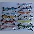 Super light retro vidros do olho quadros pontos estudantes das mulheres designer de marca do vintage óculos de armação gafas oculos de grau feminino