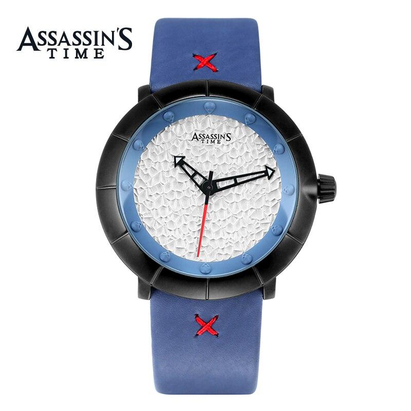Assassins Time Brand Luxury Watch Män Casual Vattentät Quartz Watch - Herrklockor