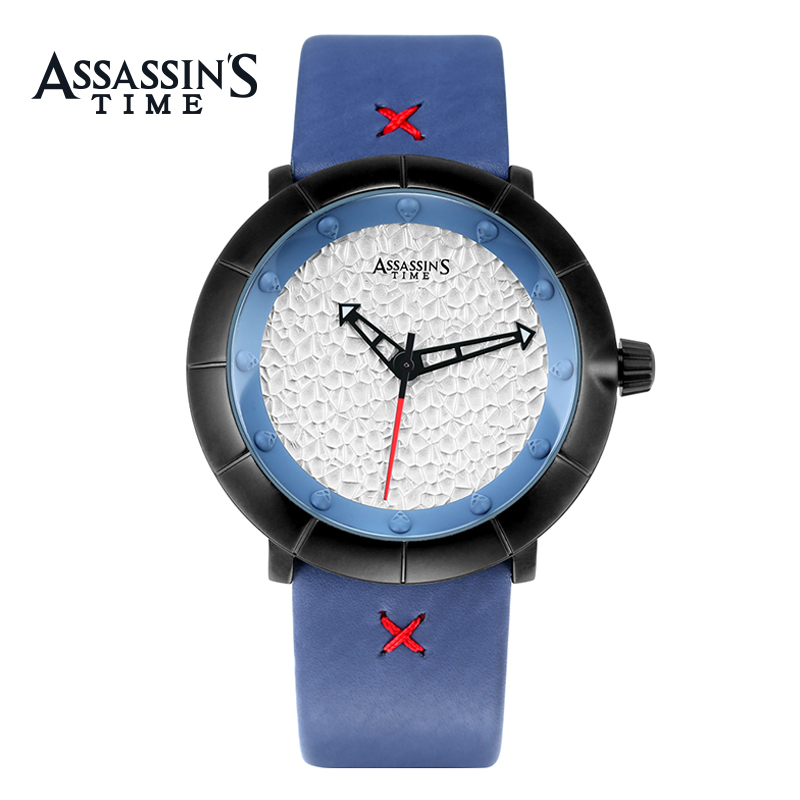Assassin's Time Brand Luxury Watch Meeste vabaaja veekindel Quartz - Meeste käekellad