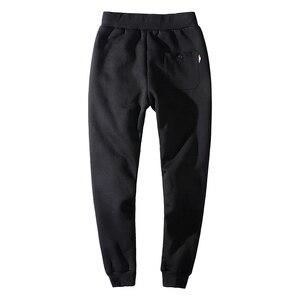 Image 3 - YIHUAHOO Winter Pants Men 6XL 7XL 8XL Casual Thick Fur Lining Warm Sweatpants Fleece Elastic Trousers Hoodie Track Pants Men