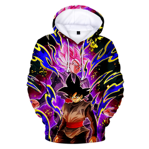 Image 4 - DRAGON BALL 3D hoodie Men Women hooded pullover Harajuku Japanese streetwear Hot print DRAGON BALL 3D Hoodies boys Sweatshirts