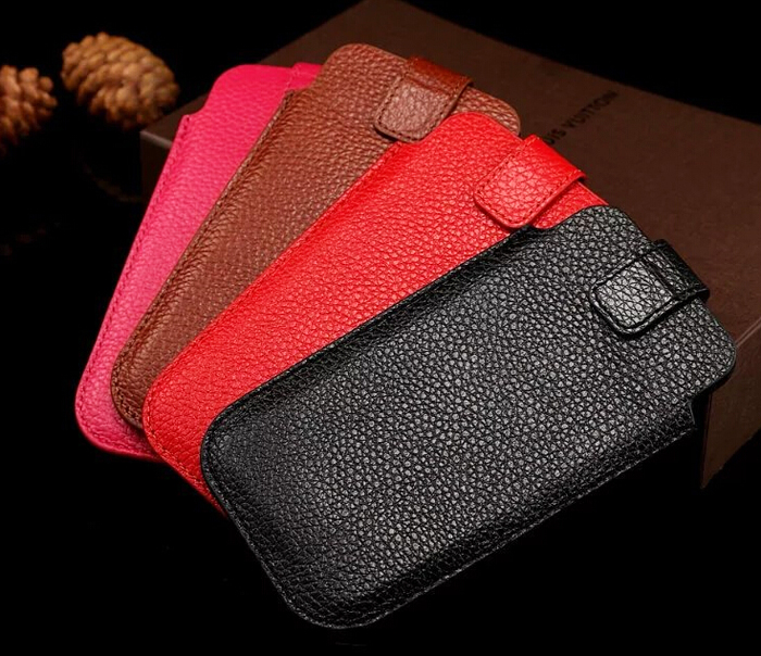 Hand Strap Genuine Leather Mobile Phone Cases Pouch For Samsung Galaxy Note7R,Blackview E7/E7S/A8 Max/R7,Cubot Note S/S550 Pro