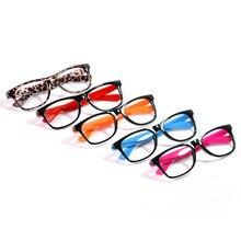 7b2aed8af7 Baby Boys Girls Unisex Nerd Geek Glasses Frame Color Matched Eyeglasses Hot