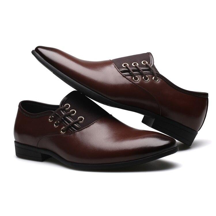 9e8cc1832b Diseñador para Hombre Zapatos casuales de cuero Caballero negocio ...